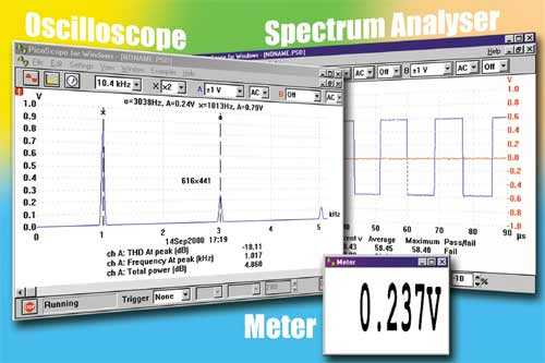 Spectrum Analyzer Software Press Release From Pico Technology